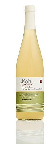 Gourmet Bergapfelsaft mit Apfelminze Richard+Liz 0,75l