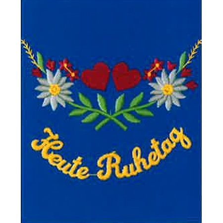 Original Südtiroler Schürze -Heute Ruhetag