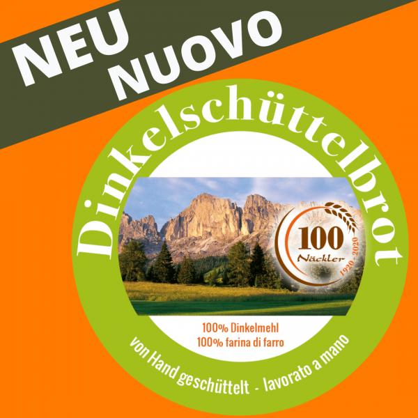 Dinkelschüttelbrot 250g - handgeschüttelt NEU!!!