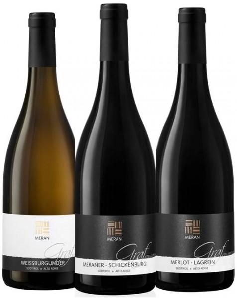 Weinpaket Graf von Meran 25 Jahre Beim Südtiroler