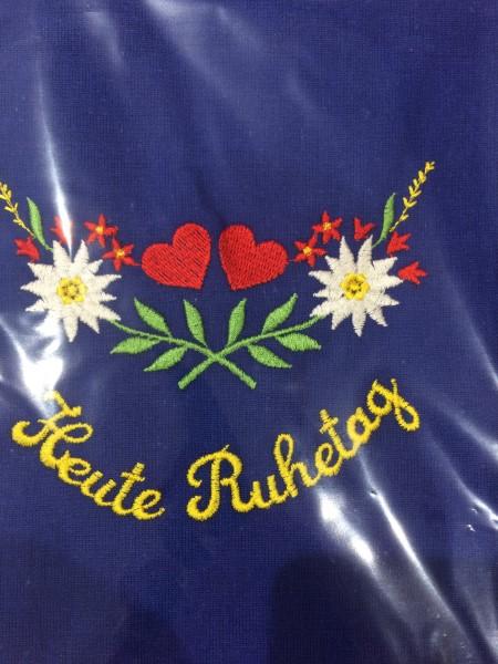 Original Südtiroler Schürze - Heute Ruhetag